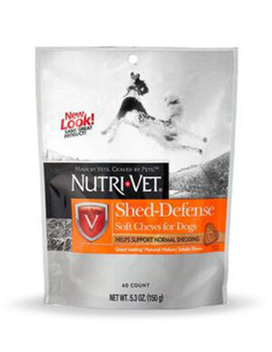 Nutri-Vet Shed Defense Soft Chews for Dogs 150g