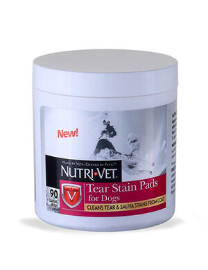 Nutri-Vet Tear Stain Pads For Dogs 90 Pads