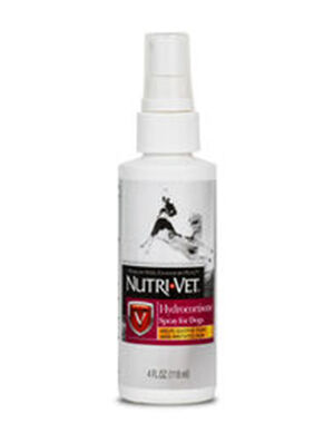 Nutri-Vet Hydrocortisone Spray For Dogs 118ml