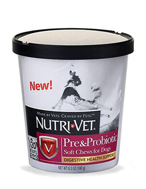 Nutri-Vet Pre & Probiotic Soft Chew For Dogs 180g
