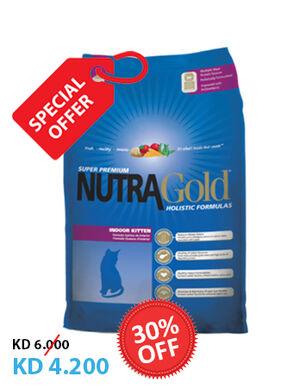 Nutra Gold Indoor Kitten 3kg