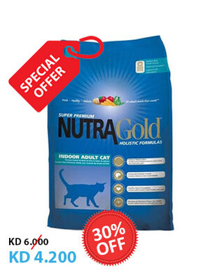 Nutra Gold Indoor Adult Cat 3kg