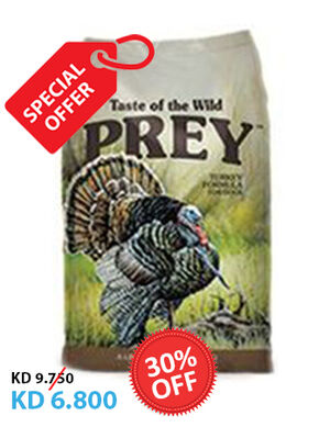 Taste of the Wild Prey Turkey Dog 3.63kg