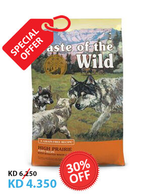 Taste of the Wild High Prairie Puppy Intl 2kg