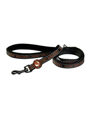 Kiwi Walker Dog Leash Brown Medium