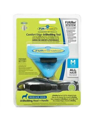 Furminator Dog deShedding Combo Medium
