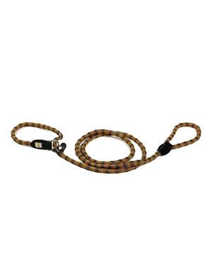 Kiwi Walker Dog Rope Leash Orange-Black Medium