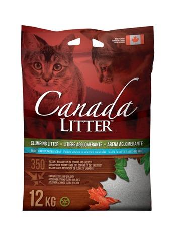 Canadian Light Baby Powder Clumping Litter 12kg