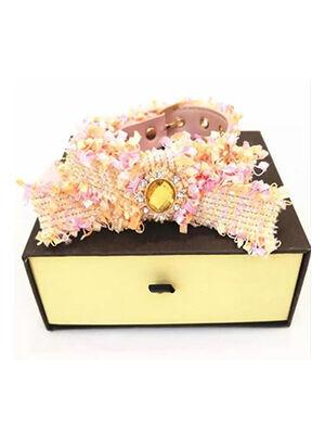 Valentine Pink Luxury Collar Medium