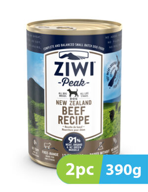 ZIWI Peak Wet Beef Recipe for Dogs 2pc x 390g