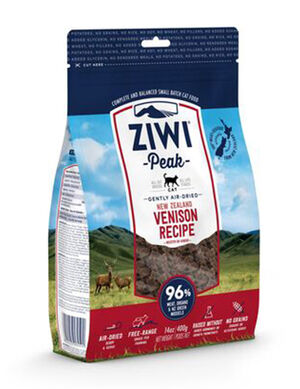 ZIWI Peak Air-Dried Venison Recipe for Cats 400g -  Cats product