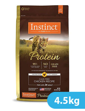 Instinct Ultimate Protein Cage-Free Chicken Recipe for cat 4.5kg