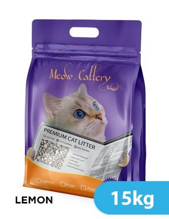 Meow Litter Lemon 15kg -  Cats product