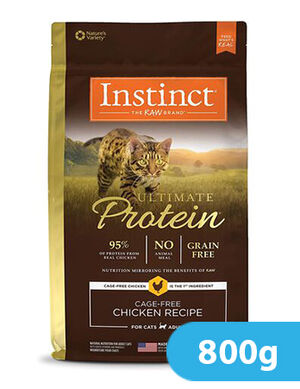 Instinct Ultimate Protein Cage-Free Chicken Recipe for cat 800g