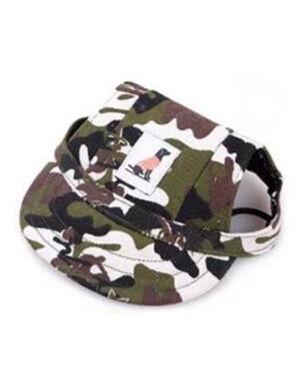Pet Summer Hat Army Medium