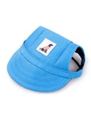 Pet Summer Hat Blue Medium