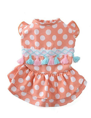 Pink Gergi3an Dress Small -  Dogs product