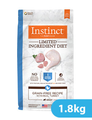 Instinct Limited Ingredient Diet Grain-Free Recipe with Real Turkey for dog 1.8kg -  Dogs product