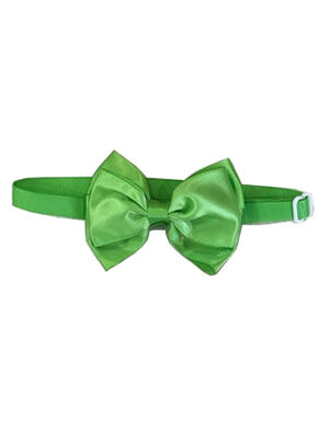 Pet Bow Tie Green Adjustable
