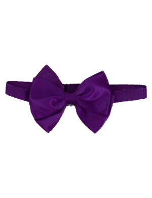 Pet Bow Tie Purple Adjustable