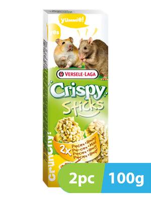 Versele-Laga Stick Hamsters - Rats Popcorn & Honey 2pc x 100g