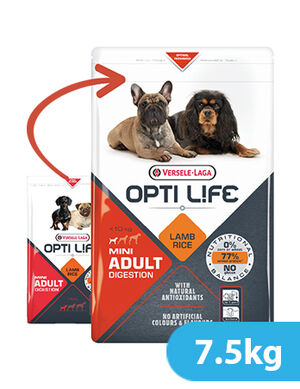 Versele-Laga Opti Life Adult Digestion Mini 7.5kg