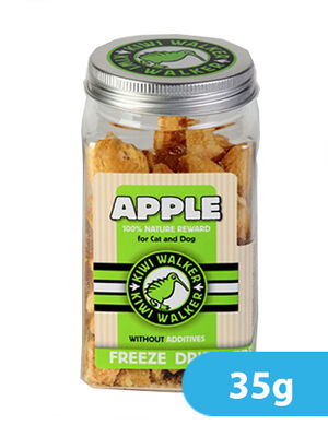 Kiwi Walker Freeze-Dried Snack Apple Square Jar 35g