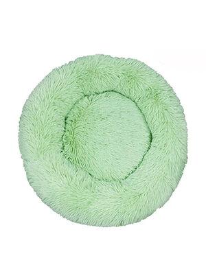 Green Fluffy Bed Medium