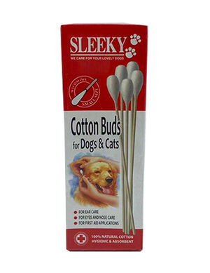 Sleeky Cotton Buds 13cm -  Dogs product
