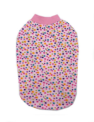 Sleeky Pink with Star Dogs Wear Size 5  -  Dogs product