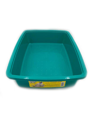 Coco Kat Green Litter Pan for Cats