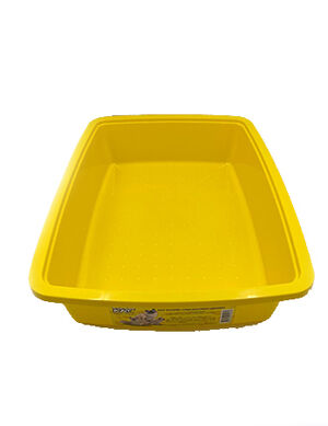 Coco Kat Yellow Litter Pan for Cats  -  Cats product