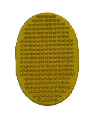 Sleeky Yellow Oval Brush -  Dogs product