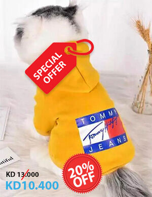 20% Yellow Tommy Jeans Hoodies Small