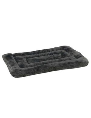 PetEdge Gray Slumber Plush Mat Medium