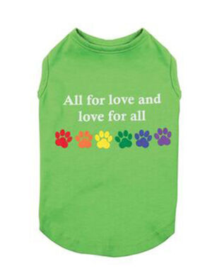 PetEdge ZZ Love for all Tank X-Small -  Dogs product