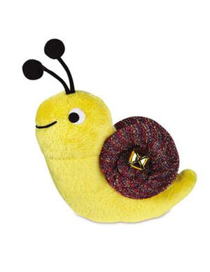PetEdge ST Glitter Critter Jingle Snail