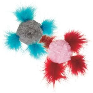 PetEdge IG CIG Fluffy Chirping Ball Canisters -  Cats product