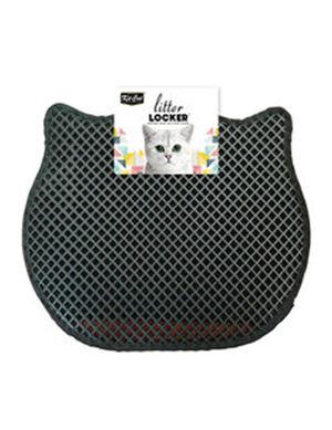 KitCat Cat Litter Mat Black 40cm x 50cm
