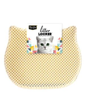 KitCat Cat Litter Mat Beige 40cm x 50cm.