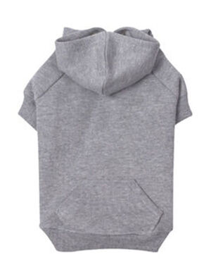 PetEdge ZZ Basic Hoodie Small Gray