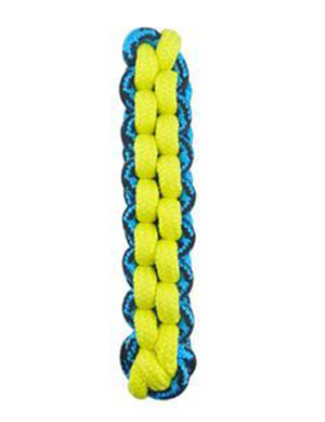 PetEdge Paracord Rope Fetch Stick - Yellow