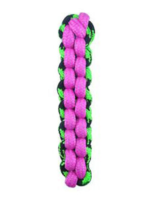PetEdge Paracord Rope Fetch Stick - Pink