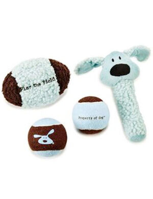 PetEdge DG Play the Field Toy 4Pcs Gift Pack