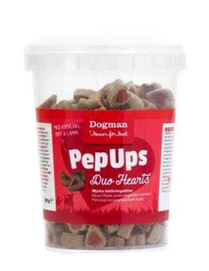 Dogman Pepups Duo Heart 300g -  Dogs product