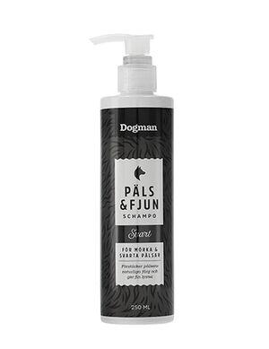 Dogman Pals & Fjun Black Shampoo 250ml