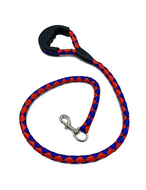 Rope Dog Leash Red/Blue
