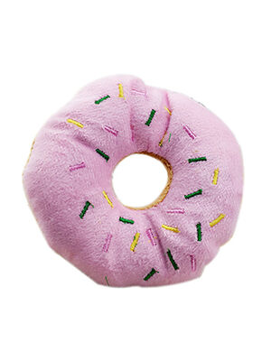 Pink Donuts Plush Toy