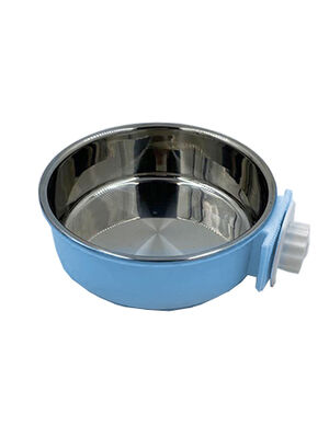 Pet Stainless Steel Bowl Blue