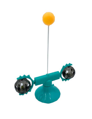 Meow Planet Windmill Shaped Cat Toy Turquoise -  Cats product